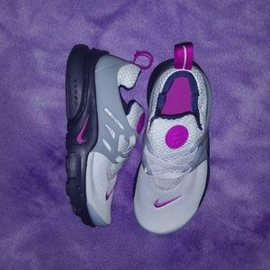 Purple & Grey Nike Sneakers